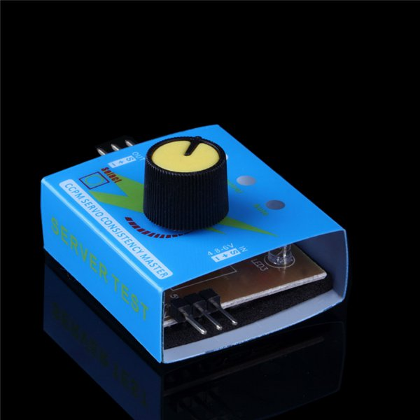 Servo Tester Third Gear Switch With Indicator Light 4.2V To 6.0v