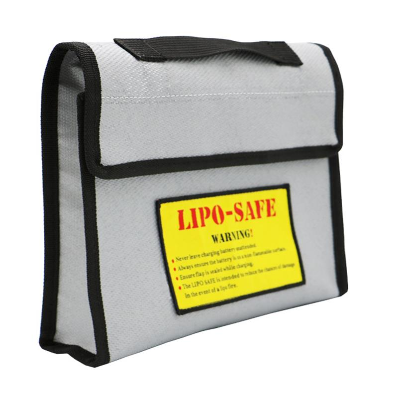 New Surface Fireproof Explosion-proof  Li-po Battery Safety Protective Bag 240*210*50MM