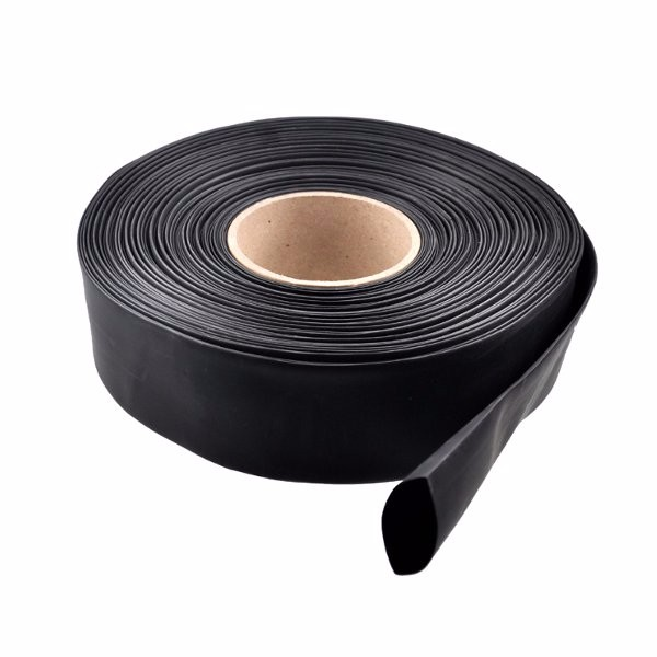 1m PVC Heat Shrink Tubing Black  30/40/46/50/60/70/86mm Wide For Lipo Battery