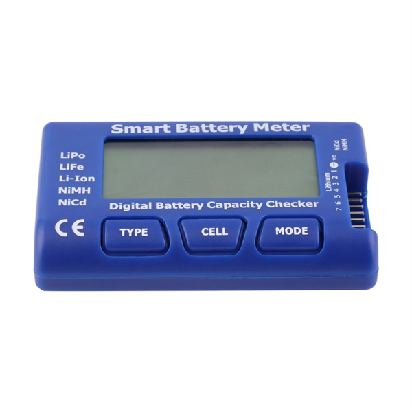 Upgraded 5 in 1 Smart 1-7S Digital Battery Meter Capacity Checker Servo Tester