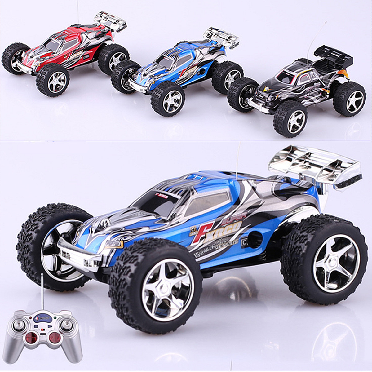 Mini 1:32 High Speed Radio Remote Control Car RC Truck Buggy Vehicle Racing Toy