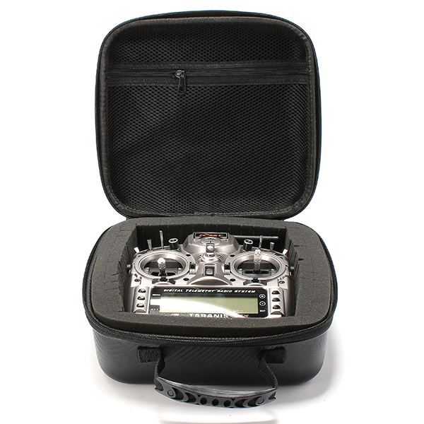 Realacc Zipper Handbag Hard Case For Frsky X9D FlySky i6S DJI Remote Transmitter