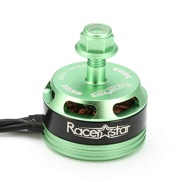 4X Racerstar Racing Edition 2205 BR2205 2300KV 2-4S Brushless Motor Green For 210 X220 FPV Racing