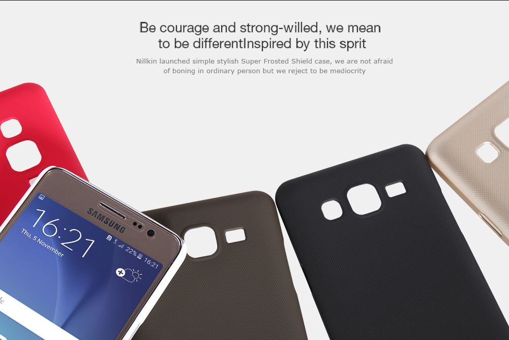 NILLKIN Frosted Shield Case Hard PC Back Cover for Samsung Galaxy ON5