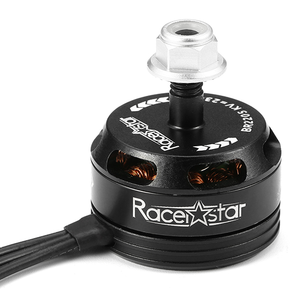 4X Racerstar Racing Edition 2205 BR2205 2300KV 2-4S Brushless Motor Black For 210 X220 250 280