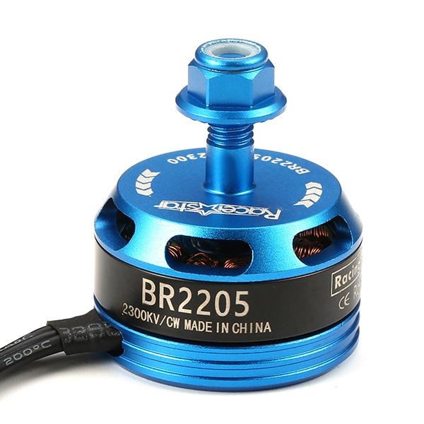 Racerstar Racing Edition 2205 BR2205 2300KV 2-4S Brushless Motor CW/CCW Light Blue For QAV250 ZMR250
