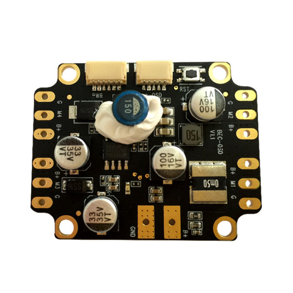 Integrated Power Distribution Board PDB Built-in OSD Dual BEC for Naze32 F3 CC3D