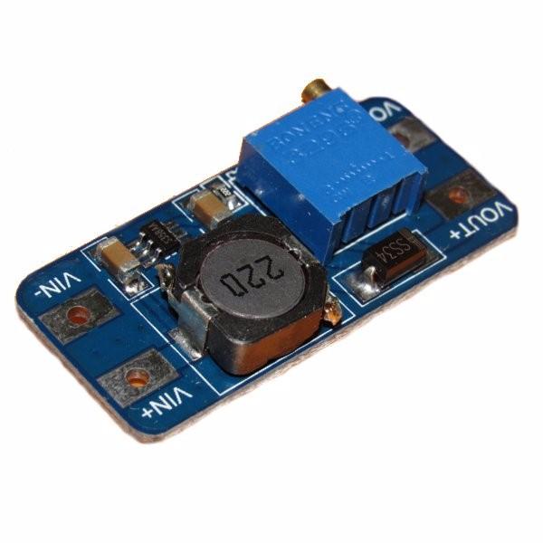 DC Boost Converter 2A Power Supply Module 2V-24V To 5V-28V Adjustable Regulator Board