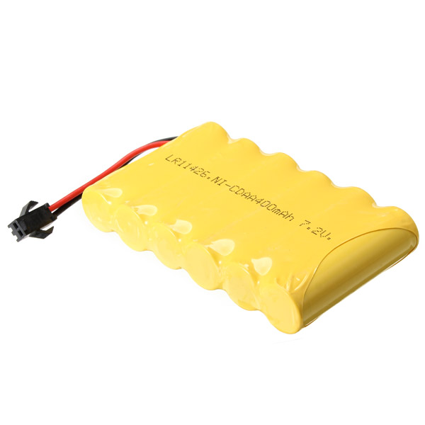 HuiNa Battery 7.2V 400mAh NI-CD Rechargeable Battery For 1550 570 Model Toy