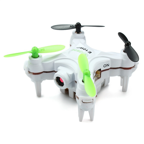 Eachine E10WD Mini Wifi FPV with Altitude Mode 2.4G 4CH 6-axis RC Quadcopter BNF/RTF