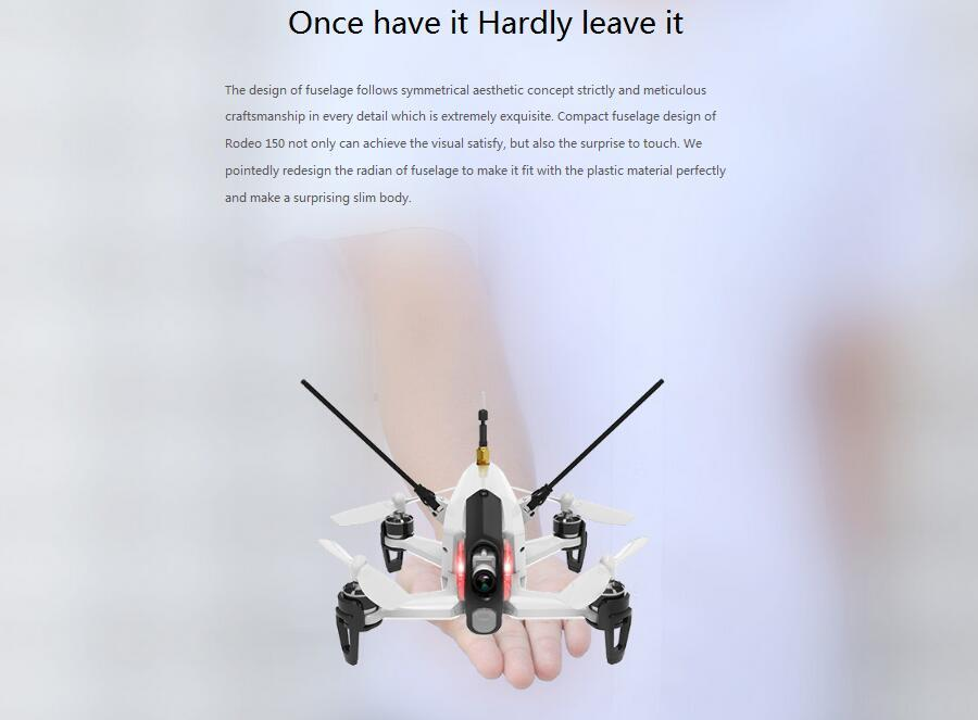 Walkera Rodeo 150 5.8G 40CH 600TVL Night Vision Camera 3D Aerobatic Mini FPV Racer Mode 1
