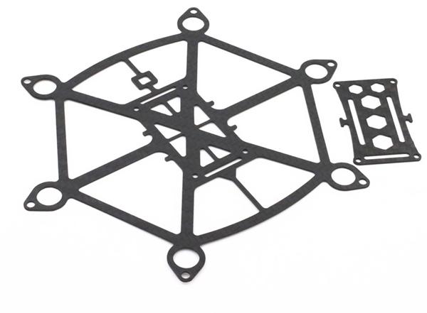 LANTIAN Spider 150 HEX-6 Carbon Fiber DIY Micro FPV RC Quadcopter Frame Support 8520 Coreless Motor