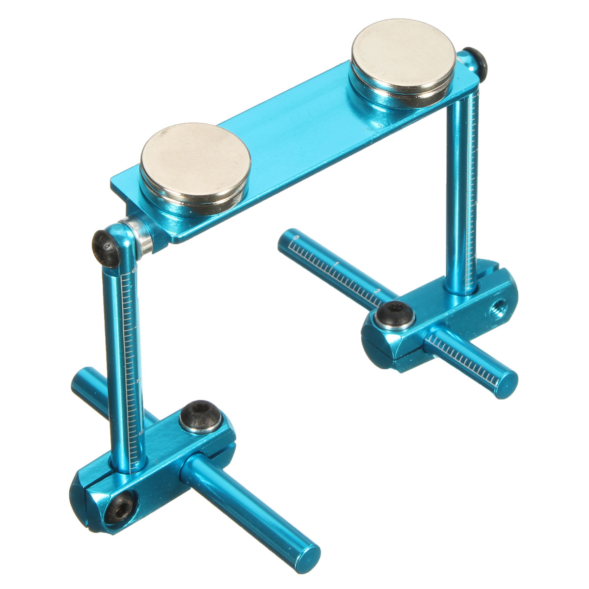 Alloy Invisible Stealth Body Post Strong Magnet For RC 1:10 Model Car Blue