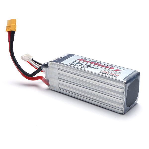 Infinity 22.2V 6S1P 2200mah 70C Graphene Lipo Battery With XT60 Plug for RC Models