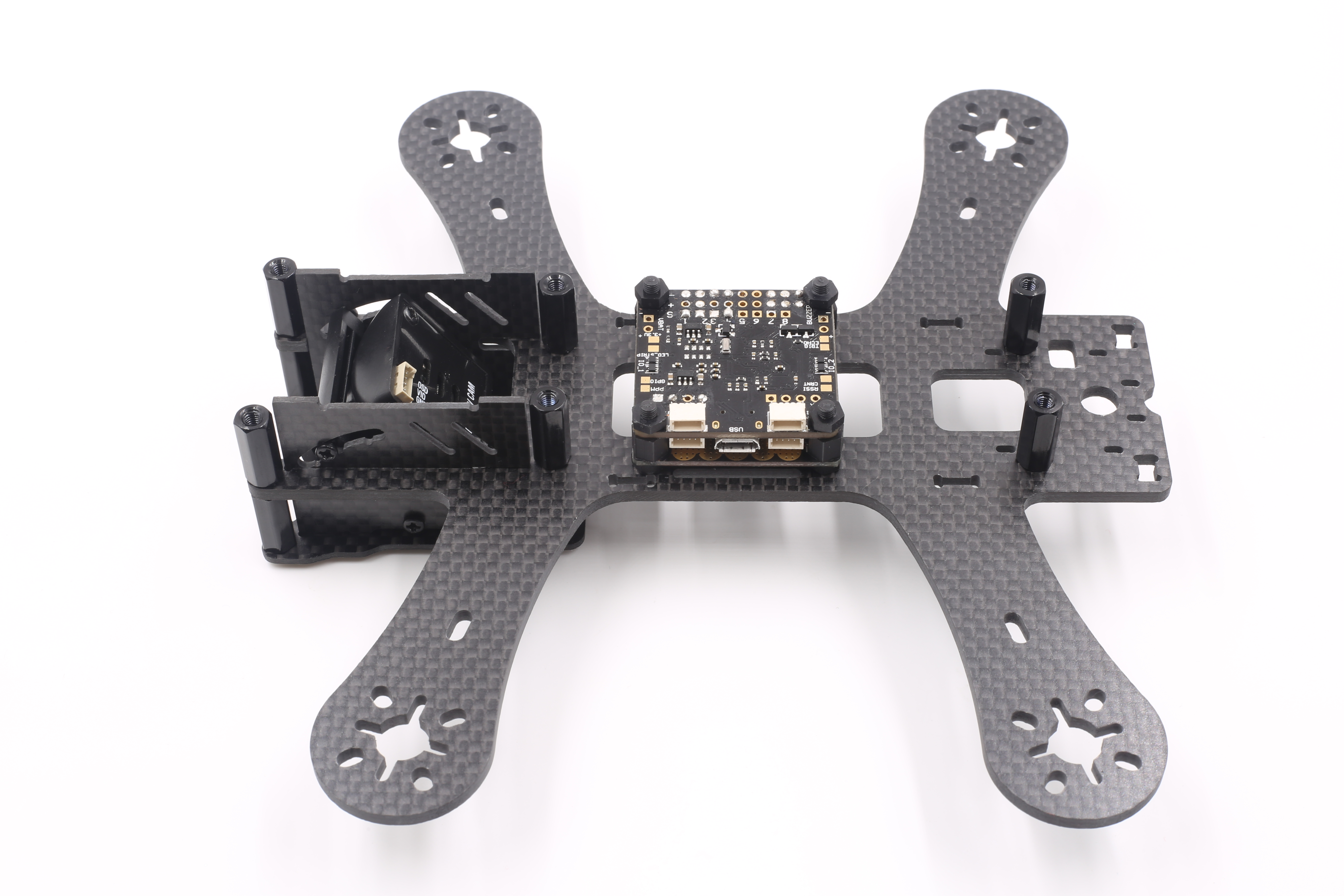 GEPRC FPV GEP180 180MM Carbon Fiber Frame Kit with PDB WS28128 LED Board