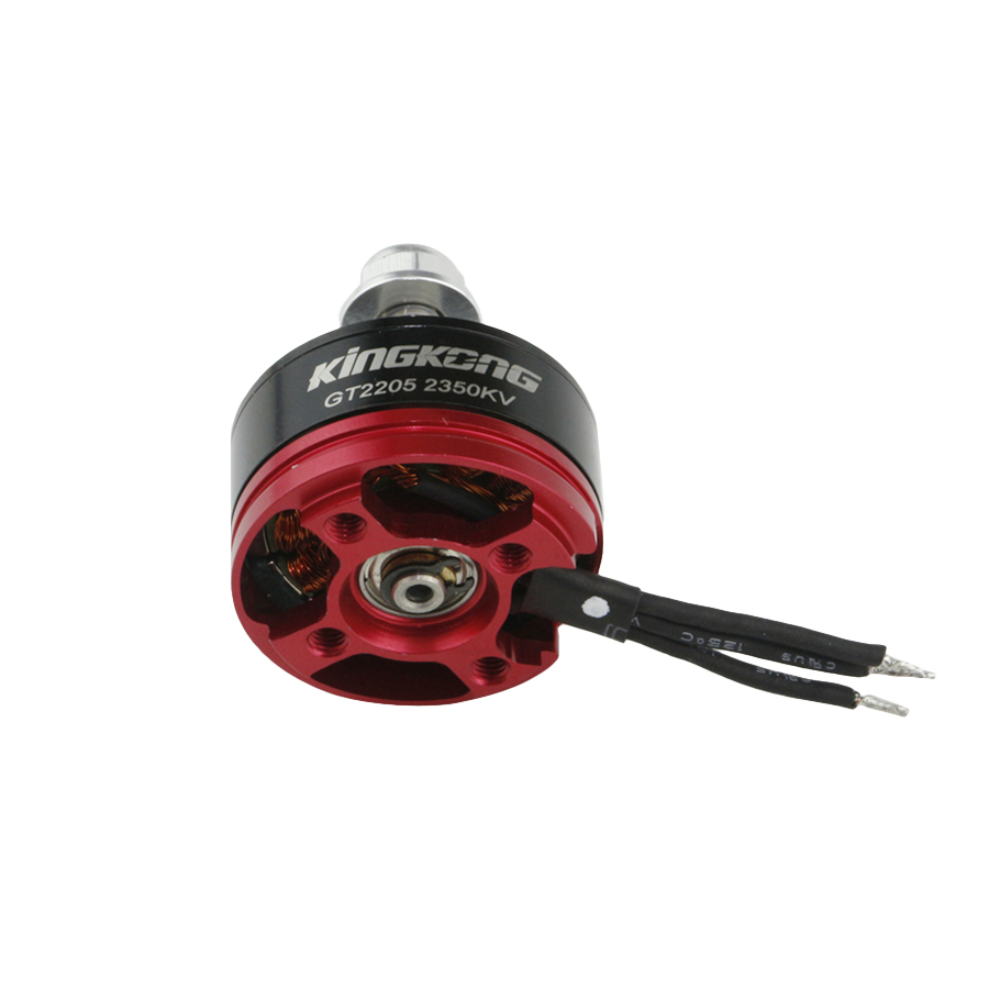 Kingkong 2205 GT2205 2350KV 2-4S Brushless Motor With Motor Protector For X210 220 250 280 Frame Kit