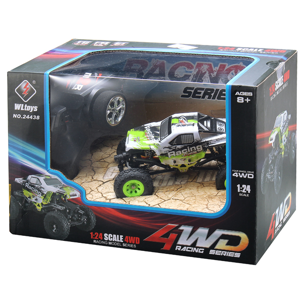 WLtoys 24438 1/24 2.4G 4WD Rock Crawler RC Car