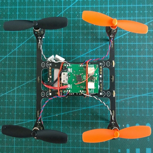 Micro Scisky 32bits Brushed Flight Control Board Built-in Futaba SFHSS Compatible RX For DIY Frame
