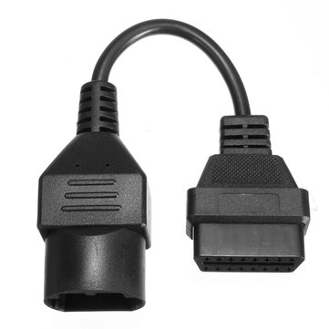 OBD2 Diagnostic Cable Adapter Code Scanner 17pin to 16pin for Mazda Ford Ranger