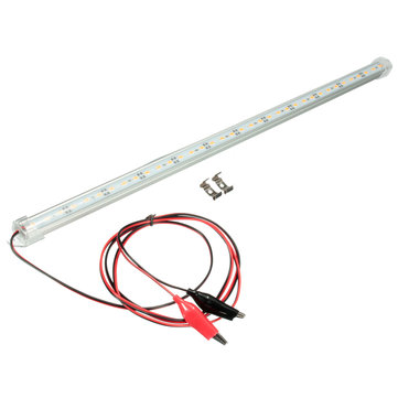 12V 50cm Car Clear LED 5630 SMD Interior Strip Light Bar Van Caravan Fish Tank